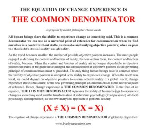 The common denominator